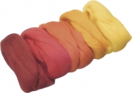 KPC felt Extra fine 5 colours * 10 gr yellow:red