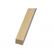 KPC pinewood strip Ø1 m, 10*10 mm