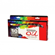 Oil Colour Paint Set Daler Rowney Oil 10 Colours * 38 Ml