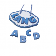 KPC mold 035 mm, 160 g Letters (A-Z)