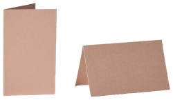 pack of 25 Small Card Blanks/Table Place Cards - Pearlescent Rose