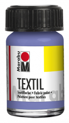 Fabric Paint for Light Coloured Textiles (Washing Machine Resistant) Marabu Textil - Lilac