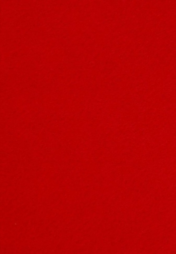 Soft Acrylic Craft Felt A4 thickness 1.5 mm Red
