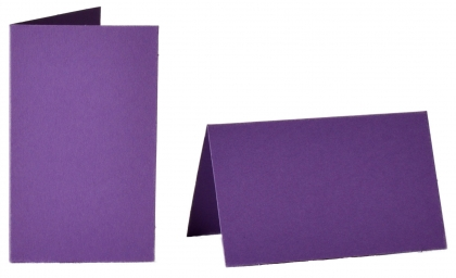 pack of 25 Small Card Blanks/Table Place Cards - Lilac