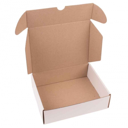 Postal Cardboard Box : 21 x 17 x 6 cm : Suitable for A5 Size