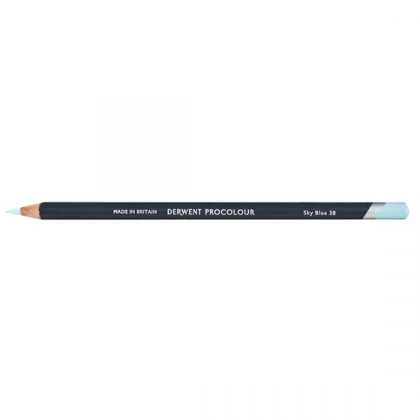 Derwent Procolour Pencil : 38 Sky Blue