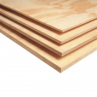 Birch Plywood Sheet : 3 mm : 21 x 30 cm