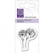 KPC stamp clear 1010, Wild flowers, 5*6cm