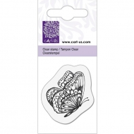 KPC stamp clear 1058, butterfly, 5*6cm