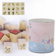 Heyda stamp 15+1 pc 85-Baby