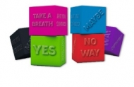 Brunnen Fun Eraser Decision Maker Dice Black