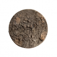 Craft Birch Bark Round Cut Outs : Diameter 8 cm : Pack of 6