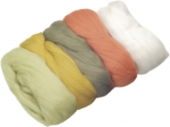 Knorr Prandell : Merino Wool : 5 colours x 10 gr : Green and Orange