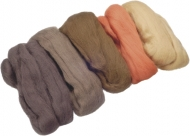 Knorr Prandell : Merino Wool : 5 colours x 10 gr : Brown
