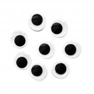 self-adhesive eyes 15 mm, 2000 pcs