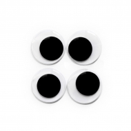 self-adhesive eyes 30 mm, 500 pcs