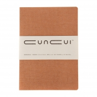 Brown Hardbound Pocket Sketchbook Cuncui : 80 gsm : 96 Sheets : B6