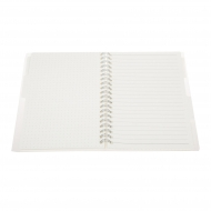 Wirebound Organiser : 80 gsm : 80 Sheets : 4 Subjects : B6