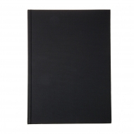 Plain book B5 black