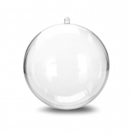 Fillable Clear Acrylic Ball 100 mm