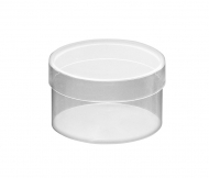 Clear Acrylic Round Box 85x50 mm