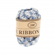 Jute Ribbon 7 mm, 3 m 3 Blue