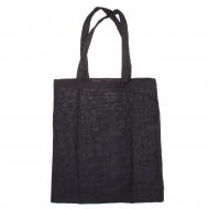 Black Tote Bag with Short Handles