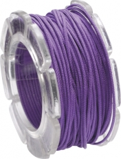 Lilac Waxed Cotton Cord Knorr Prandell 1 mm x 5 m