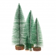 Mini Pine Tree For Doll House Scenery, Model Railroad Layouts & Dioramas 25 cm