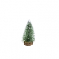 Mini Christmas Bottle Brush Frosted Tree 5 cm