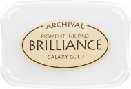 Tsukineko Brilliance Ink Pad Gold