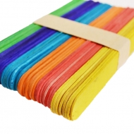 Slanchogled lollipop sticks 18*150 coloured 50 pcs