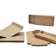 Slanchogled box kraft match Mini 10 pcs unfolded