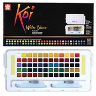 Watercolour set sakura koi пленер 60 colours