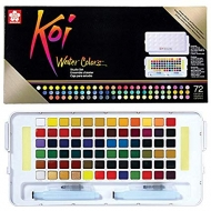 Watercolour set sakura koi 72 colours