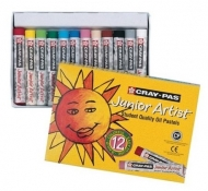 Sakura Cray-Pas Junior Artist 12 Pack Color Oil Pastel Set