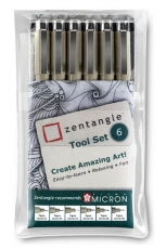 Sakura pen Pigma Micron set Zentangle 6 pcs