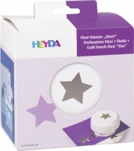 Heyda Flexi Craft Punch with Magnets - Star