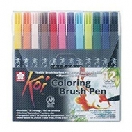 Sakura Koi Coloring Brush Pens set of 12 colours