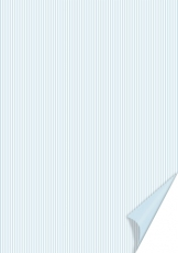 Heyda paper A4 Happy Papers 34-stripes light blue