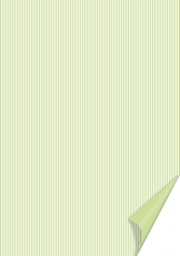 Heyda paper A4 Happy Papers 36-stripes light green