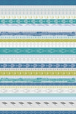 Karton A4 HFF Confirmation Stripe blue/turqu