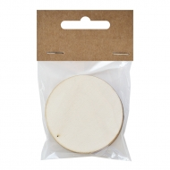 Set of 6 Plywood Circles 2.8 mm thick, Diameter 8 cm