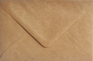 Kraft Paper Envelope C6 (114 mm x 162 mm) 115 gsm - Ribbed