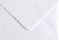 White Pearlescent Envelope C6 (114 mm x 162 mm) 115 gsm - Snow White