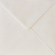 White Square Envelope S4 (155 mm x 155 mm) 100 gsm - Cream