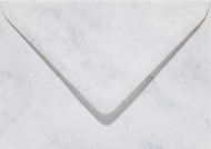 Grey Envelope C5 (156 x 220 mm)  cArt-Us 5 pcs Pack - Marble