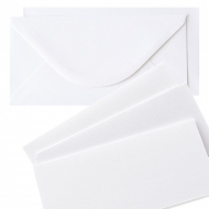 10 pcs DL Folded Cards with Envelopes - Tintoretto