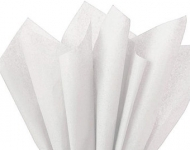 Soft Tissue Paper Heyda 50 x 70 cm, pack of 10 Sheets - White