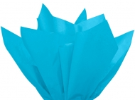 Soft Tissue Paper Heyda 50 x 70 cm, pack of 5 Sheets - Light Blue